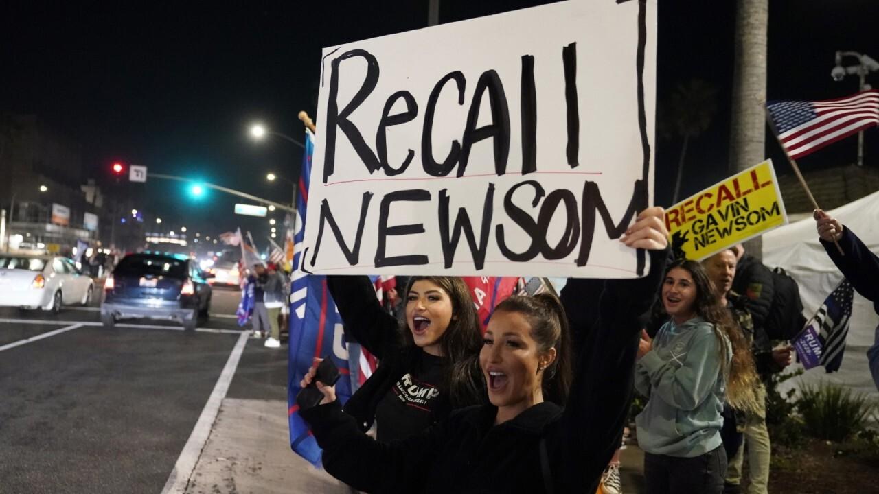 Recall Gov. Newsom campaign nears goal of 2 million signatures