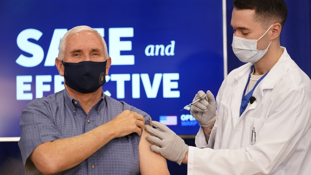 Pence receives coronavirus vaccine, praises Operation Warp Speed: 'Truly a medical miracle'