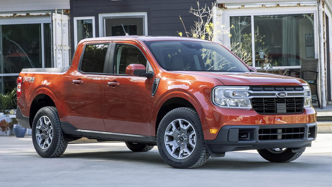 2022 Ford Maverick compact pickup debuts