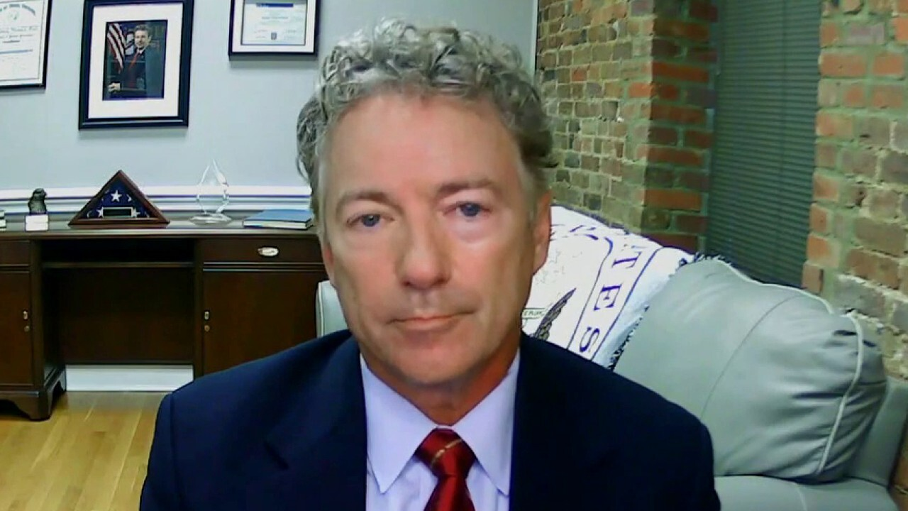 Rand Paul: Rioters are traveling from city to city, who is funding them?