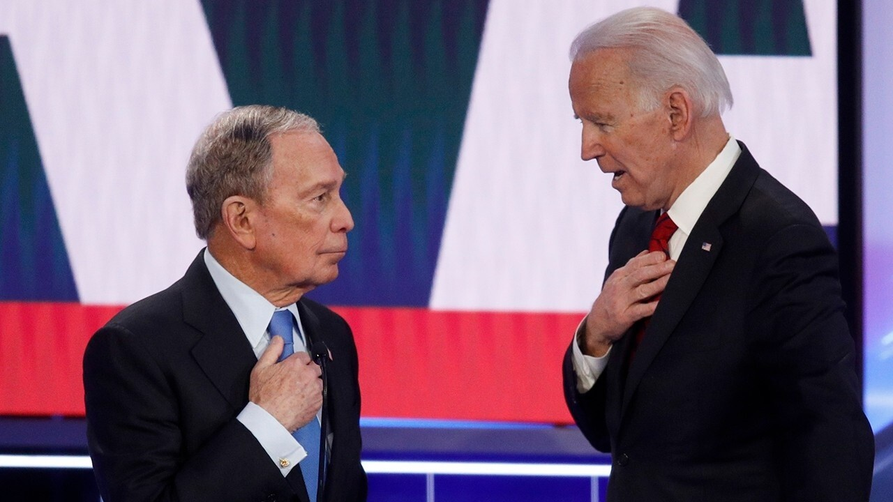 Biden called hypocritical for attacking Bloomberg over stop-and-frisk