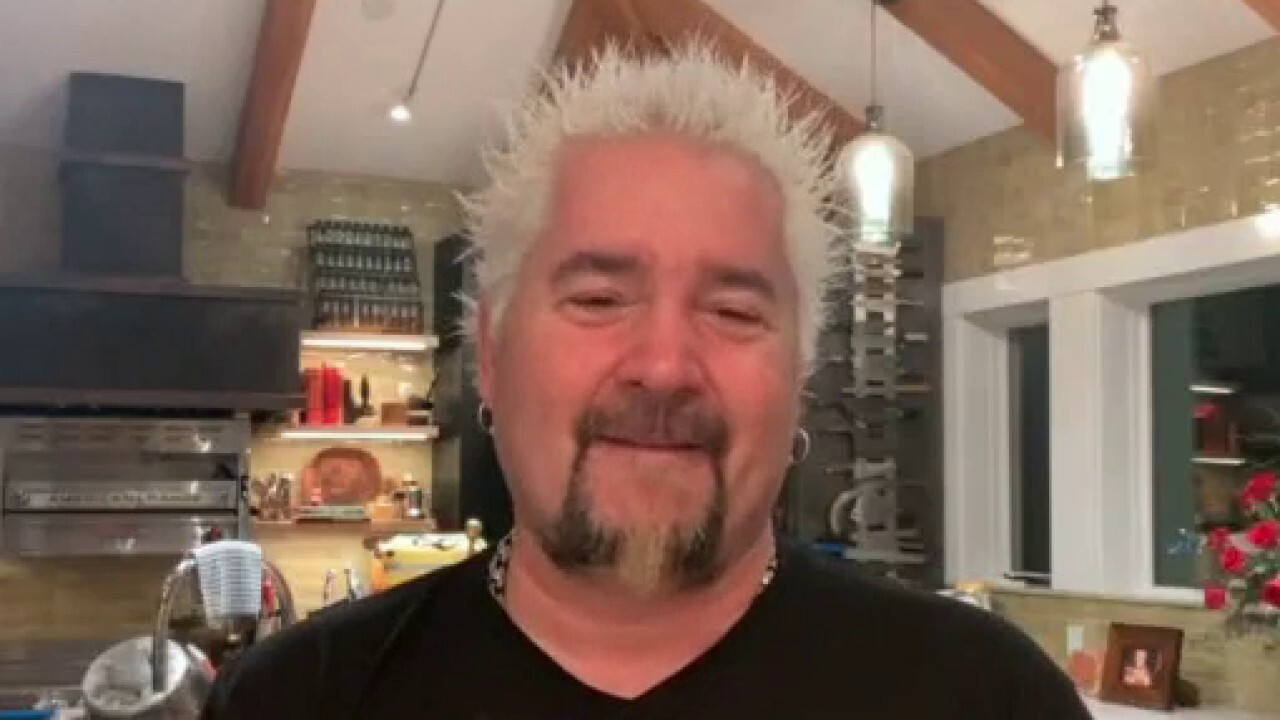 Food Network star Guy Fieri says that small businesses 'keep everybody going' and 'when you start looking at them falling off, they don't have the finances to make it through.'