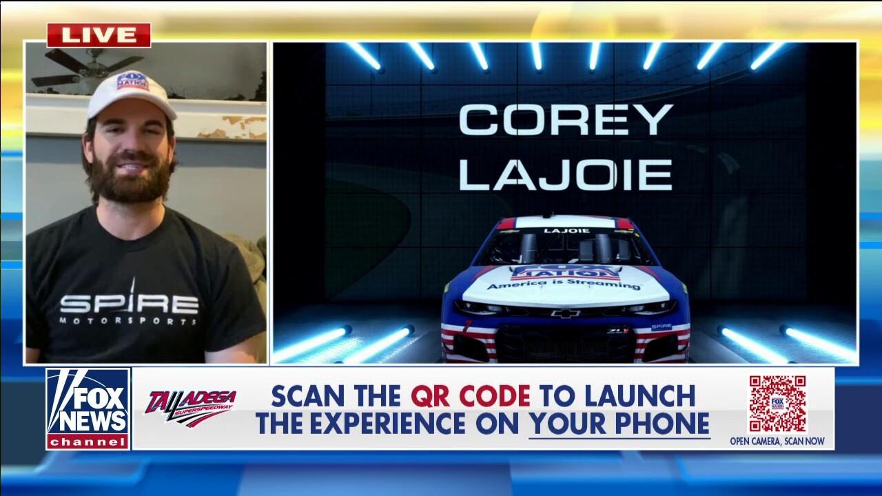 Corey Lajoie to drive Fox Nation car at Talladega