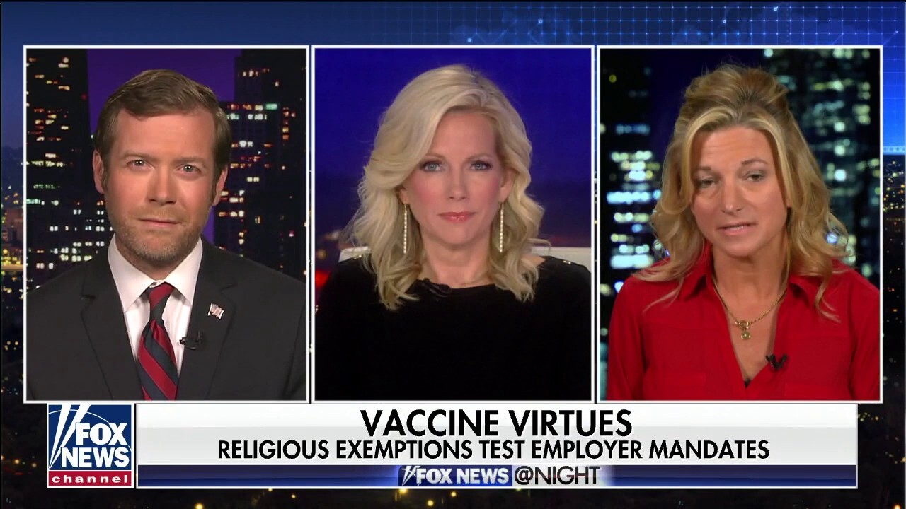 Neelie Panozzo and lawyer Daniel Suhr discuss religious exemptions for the COVID vaccine being denied.