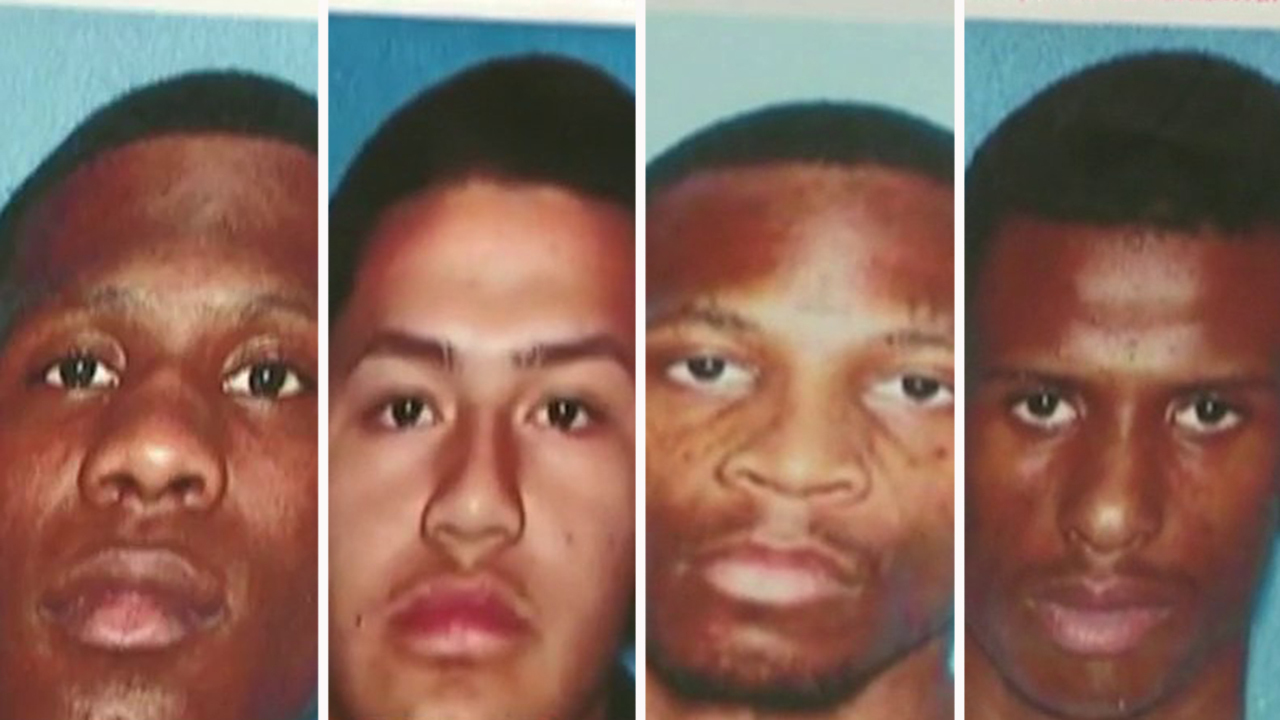 Suspects wanted for shooting NJ cops' home arrested