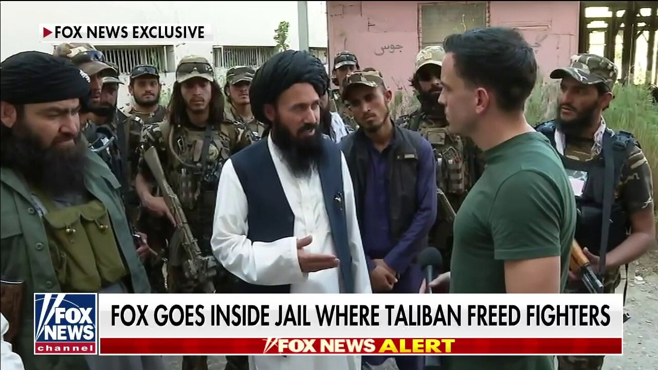 Fox News goes inside Afghanistan prison where the Taliban freed fighters
