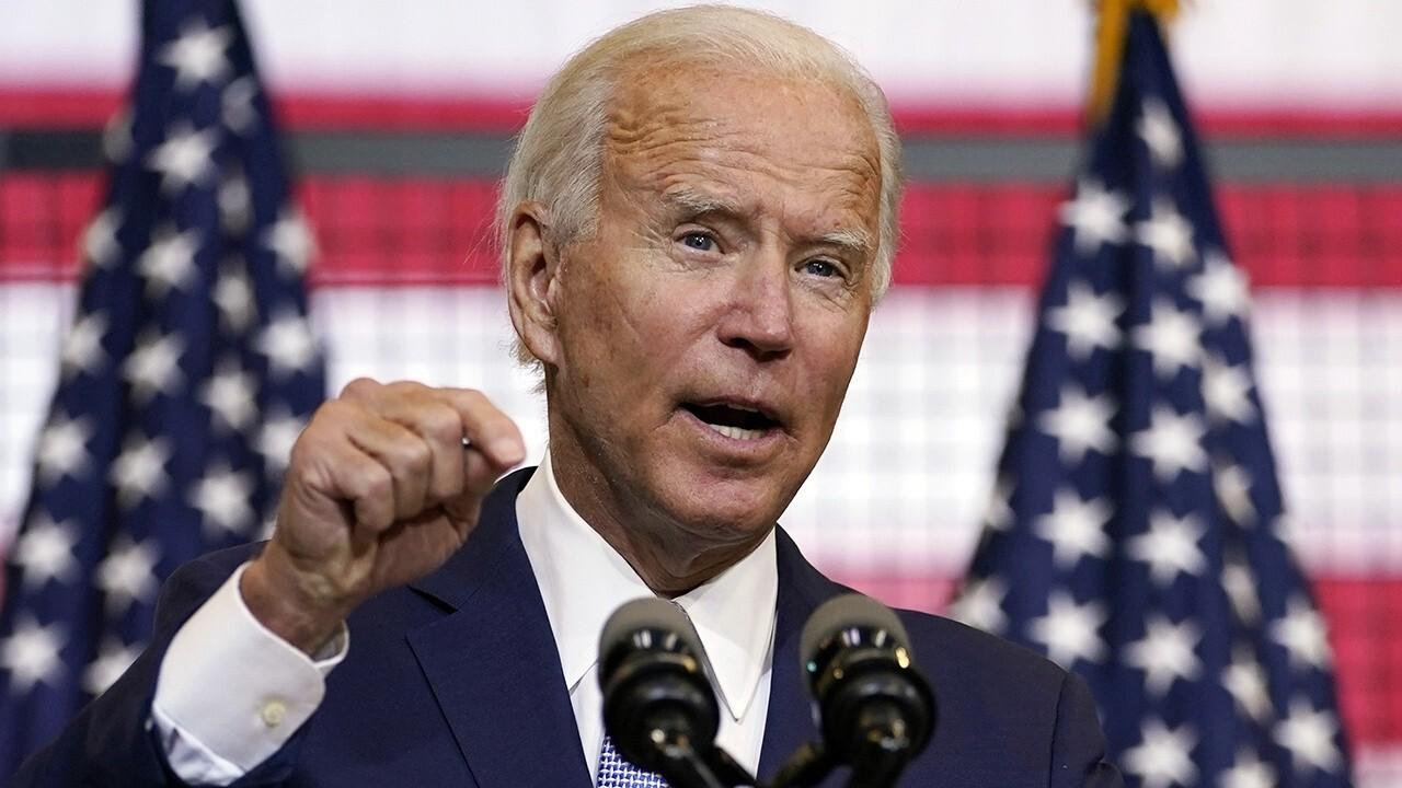Biden focuses more on surging violence as polls tighten