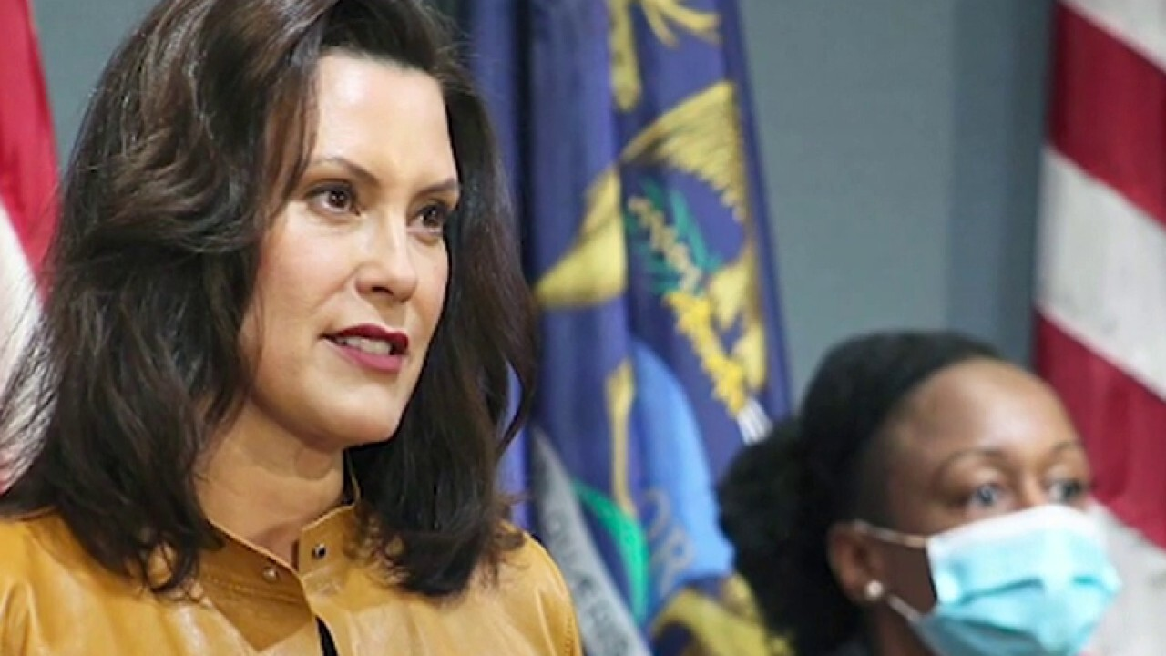 Whitmer blames Trump after FBI 'foils plot' to kidnap Michigan governor