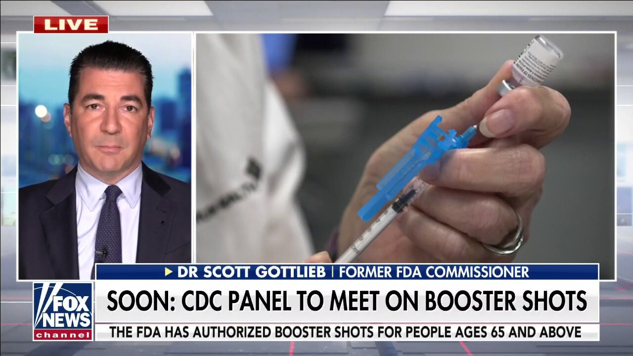 Former FDA Commissioner: 'Clear evidence' COVID boosters can 'benefit some form' of US population