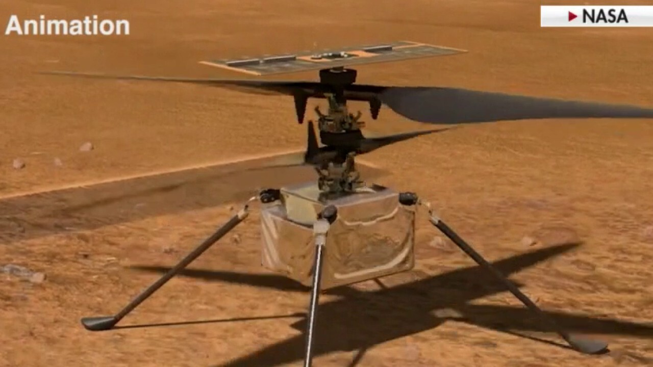 NASA to perform first ever Mars helicopter test