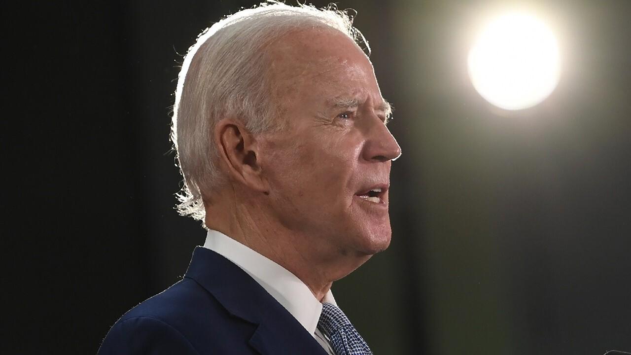 Joe Biden pressured by far-left to 'defund the police'