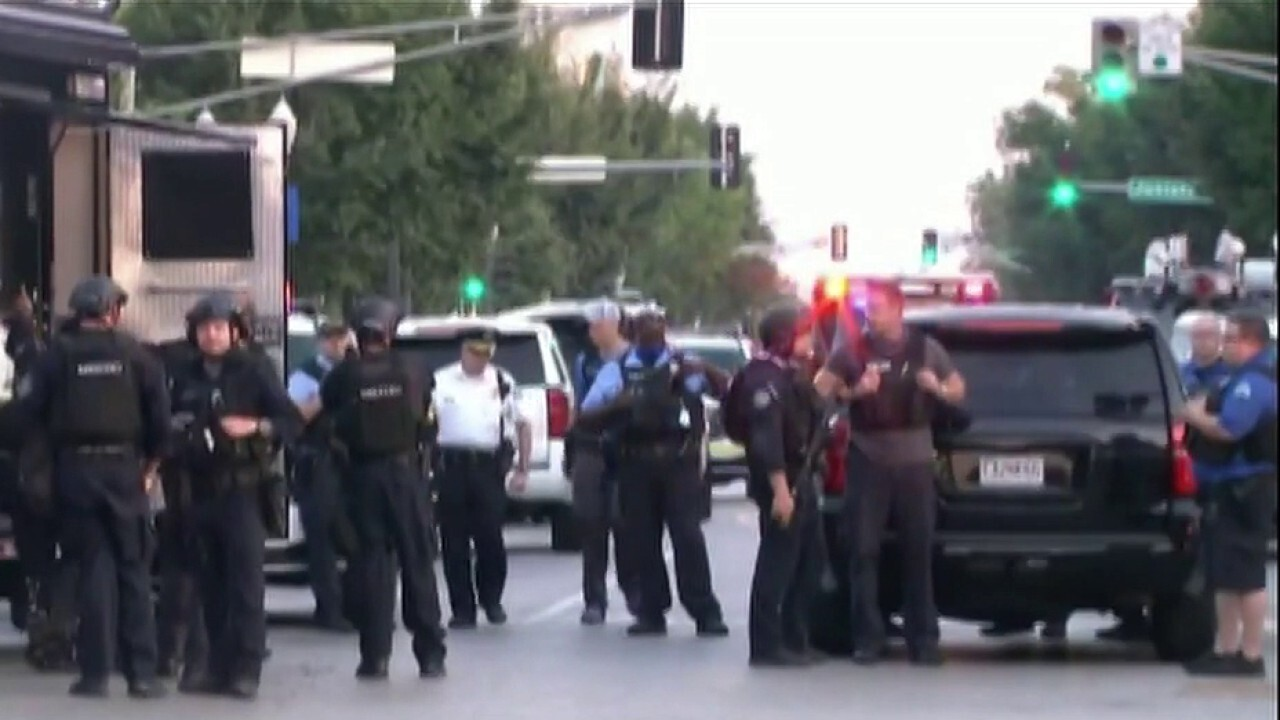 Four officers shot in the line of duty overnight