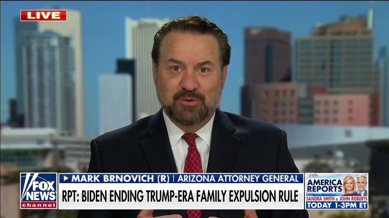 The Biden administration is 'breaking the border' and making it harder for ICE to operate: Brnovich
