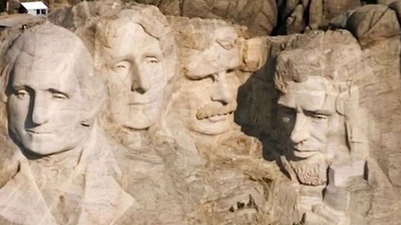 Rep. Andy Biggs says Trump's critics are trying to sow division with complaints over Mount Rushmore event