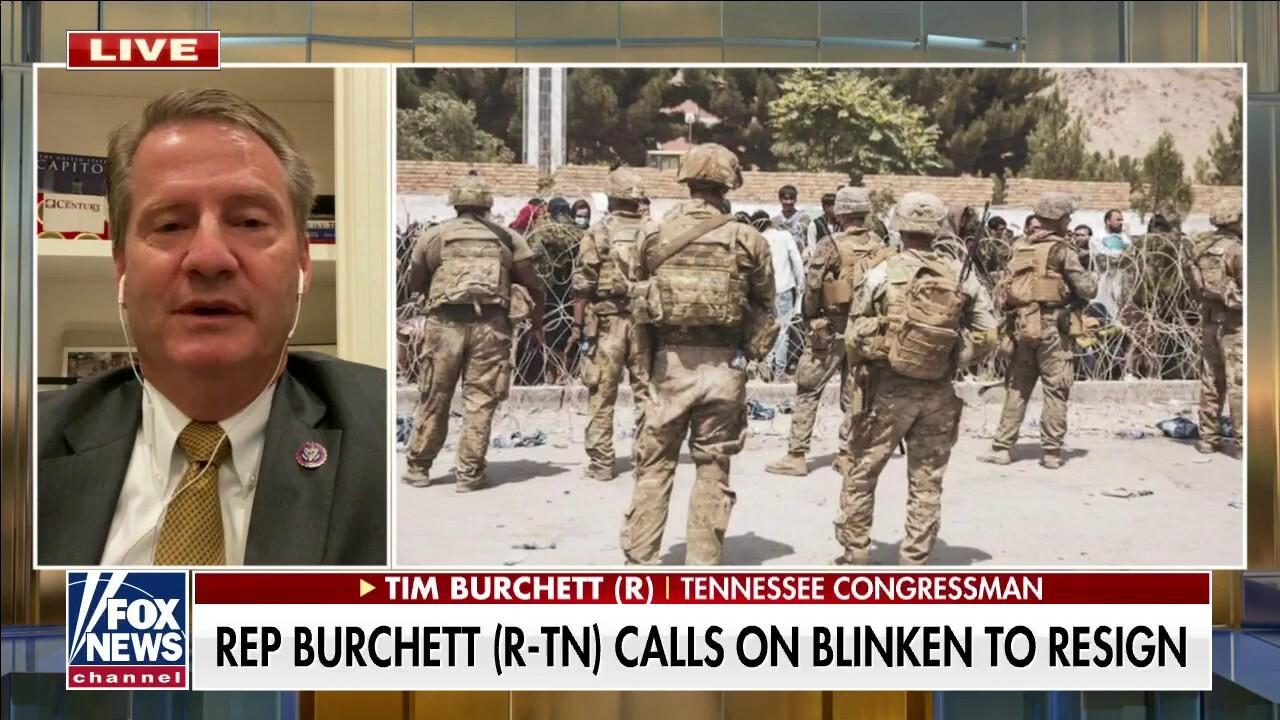Rep. Burchett calls for Secretary Blinken's resignation