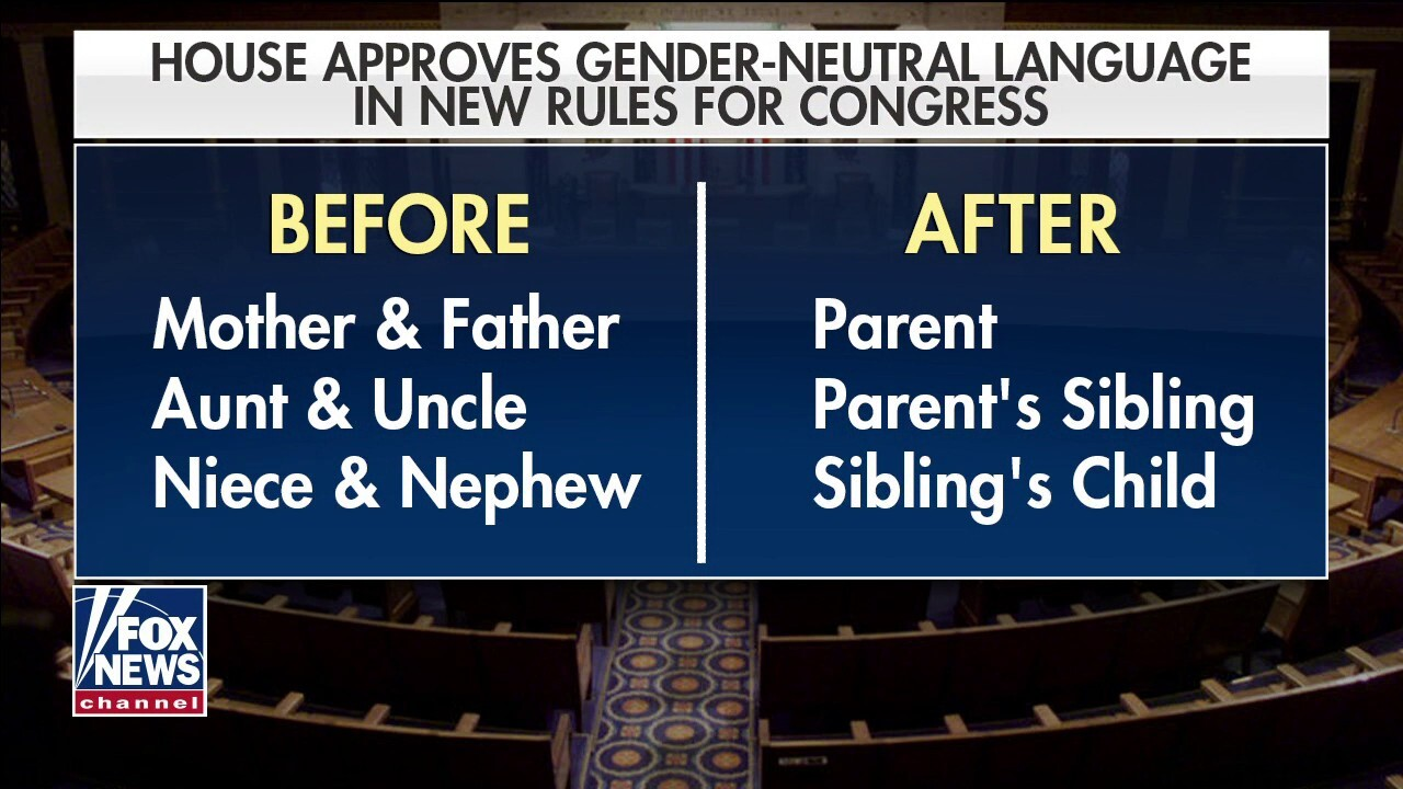 Bruce: Democrats eliminating gender language completely stomps on the people they say they represent