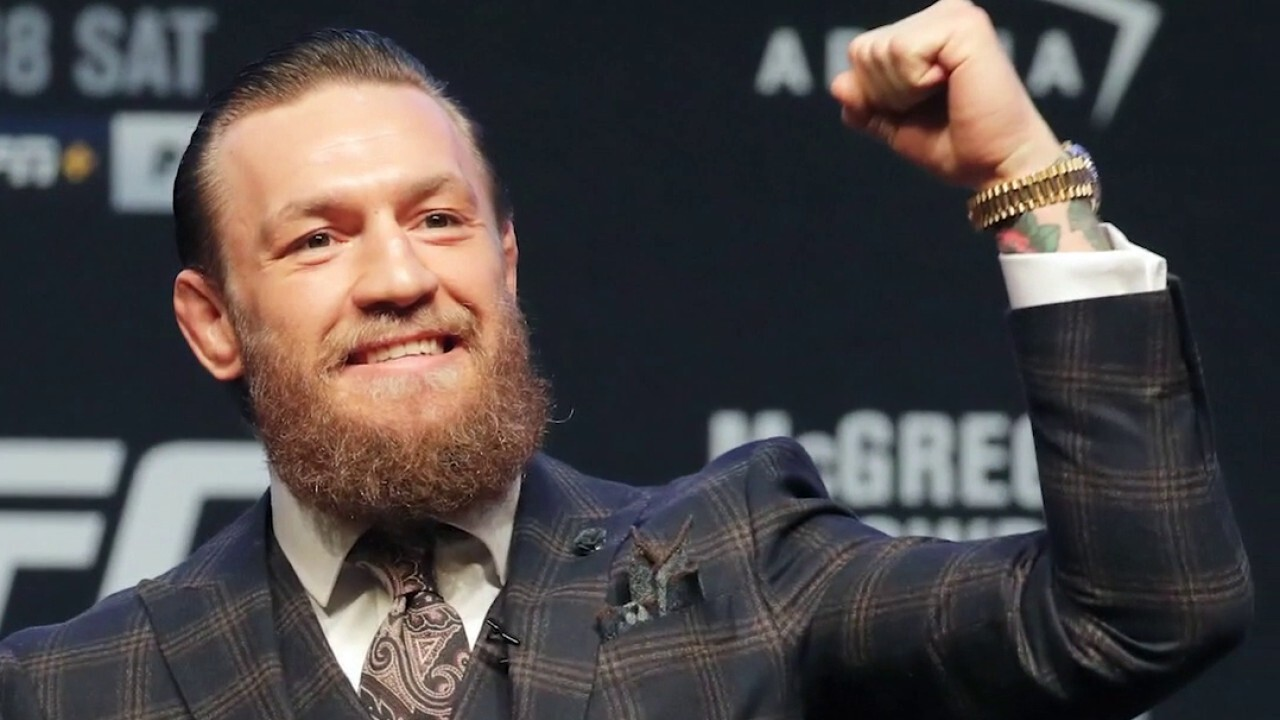 Conor McGregor talks giving back to first responders