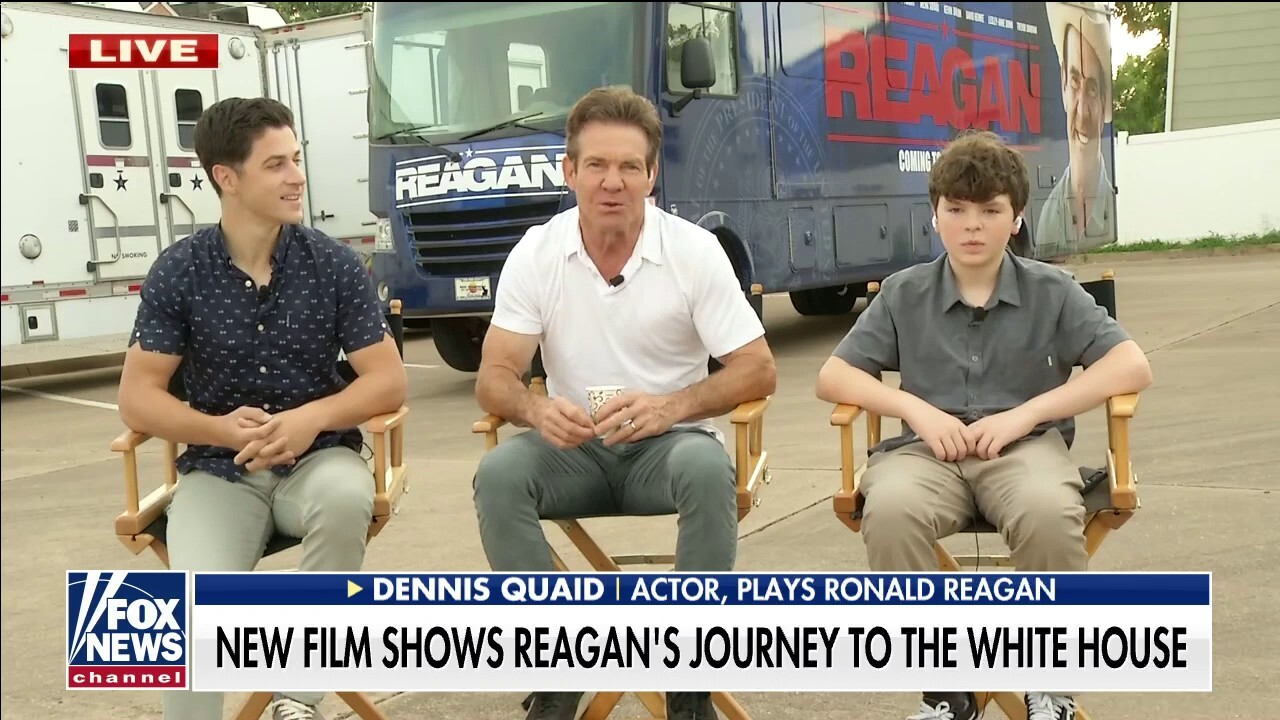 New film starring Dennis Quaid depicts Ronald Reagan's journey to the White House