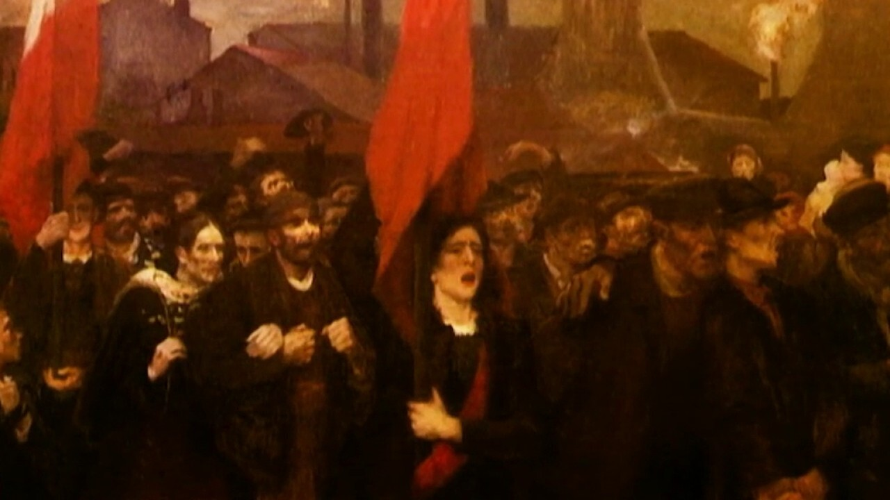Bret Baier explores the Communist Manifesto of Friedrich Engels and Karl Marx