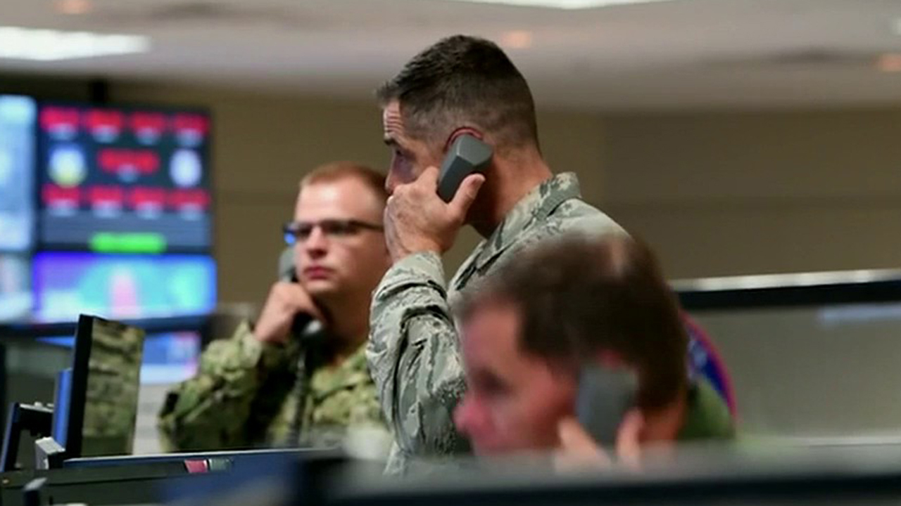 Command team overseeing domestic defense moves into underground bunker in Colorado