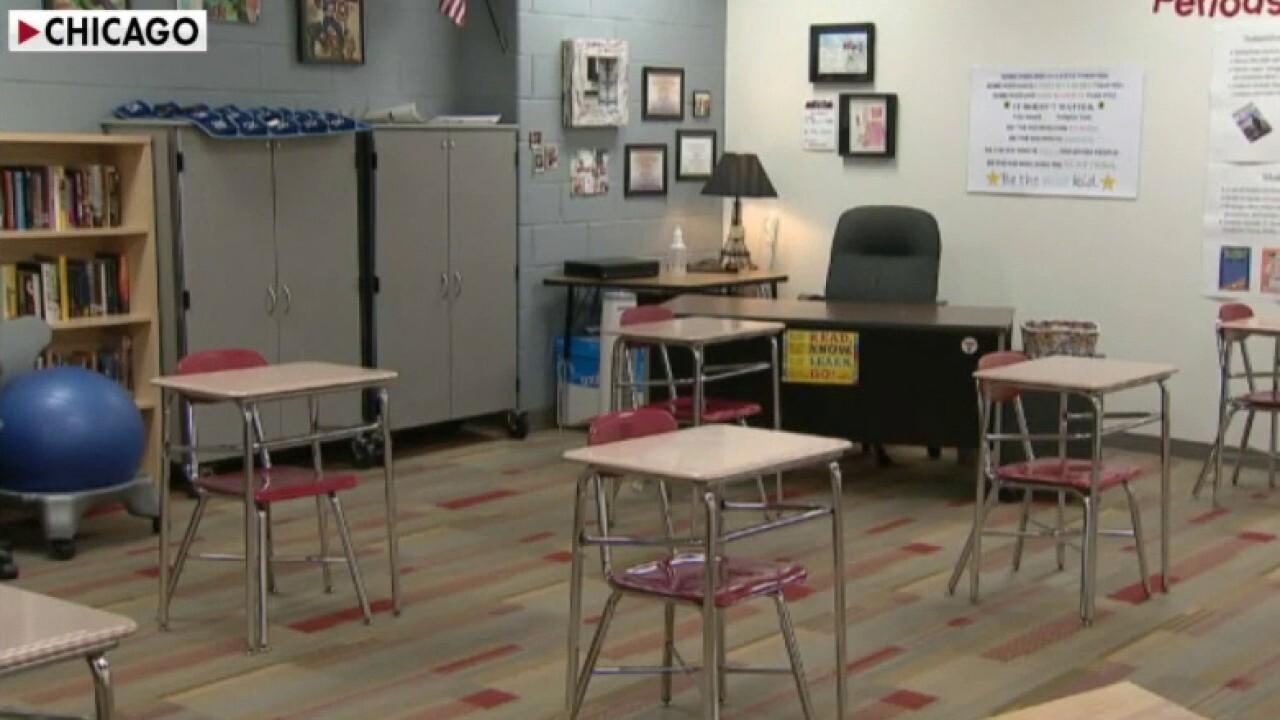 Chicago parents consider suing teachers' union to reopen city schools