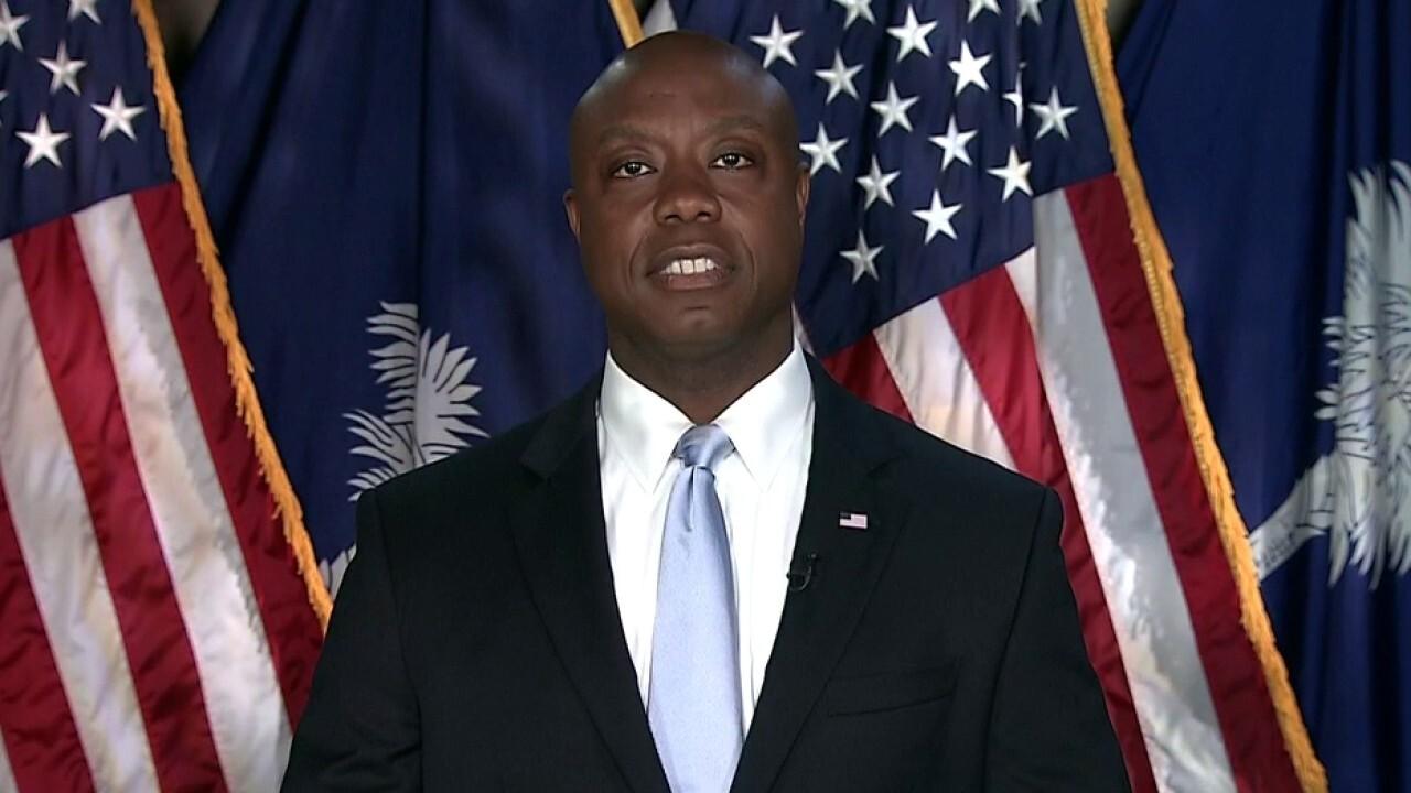 FOX News panel call Sen. Scott a 'major' player in GOP following Biden response