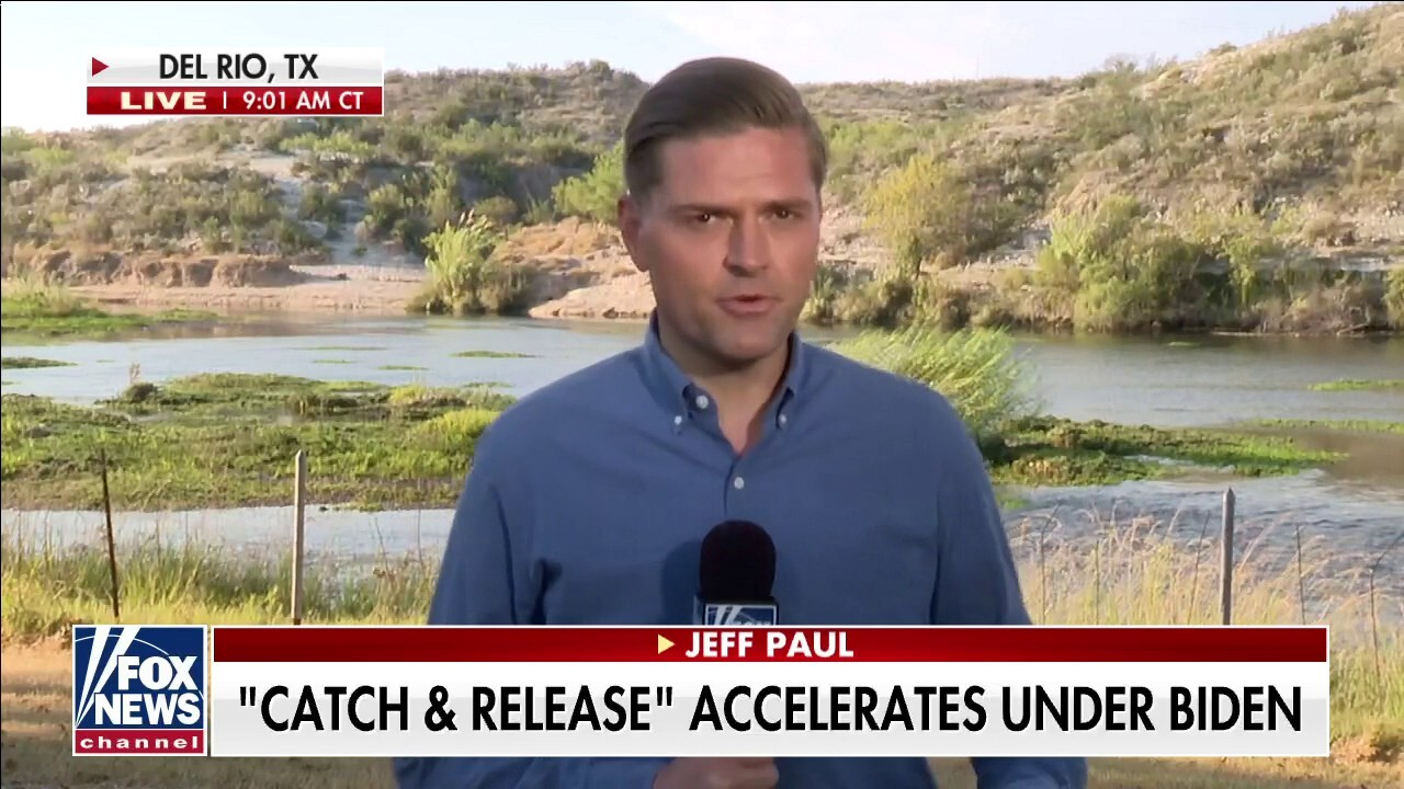 Jeff Paul: 'Constant flow of migrants just continues' at southern border