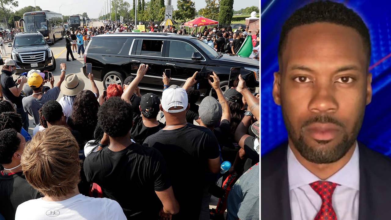 Lawrence Jones explains the celebratory tone of George Floyd's funeral service
