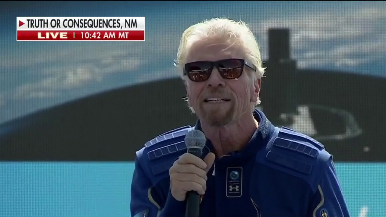 Virgin Galactic's Richard Branson: 'Welcome to the dawn of a new space age'