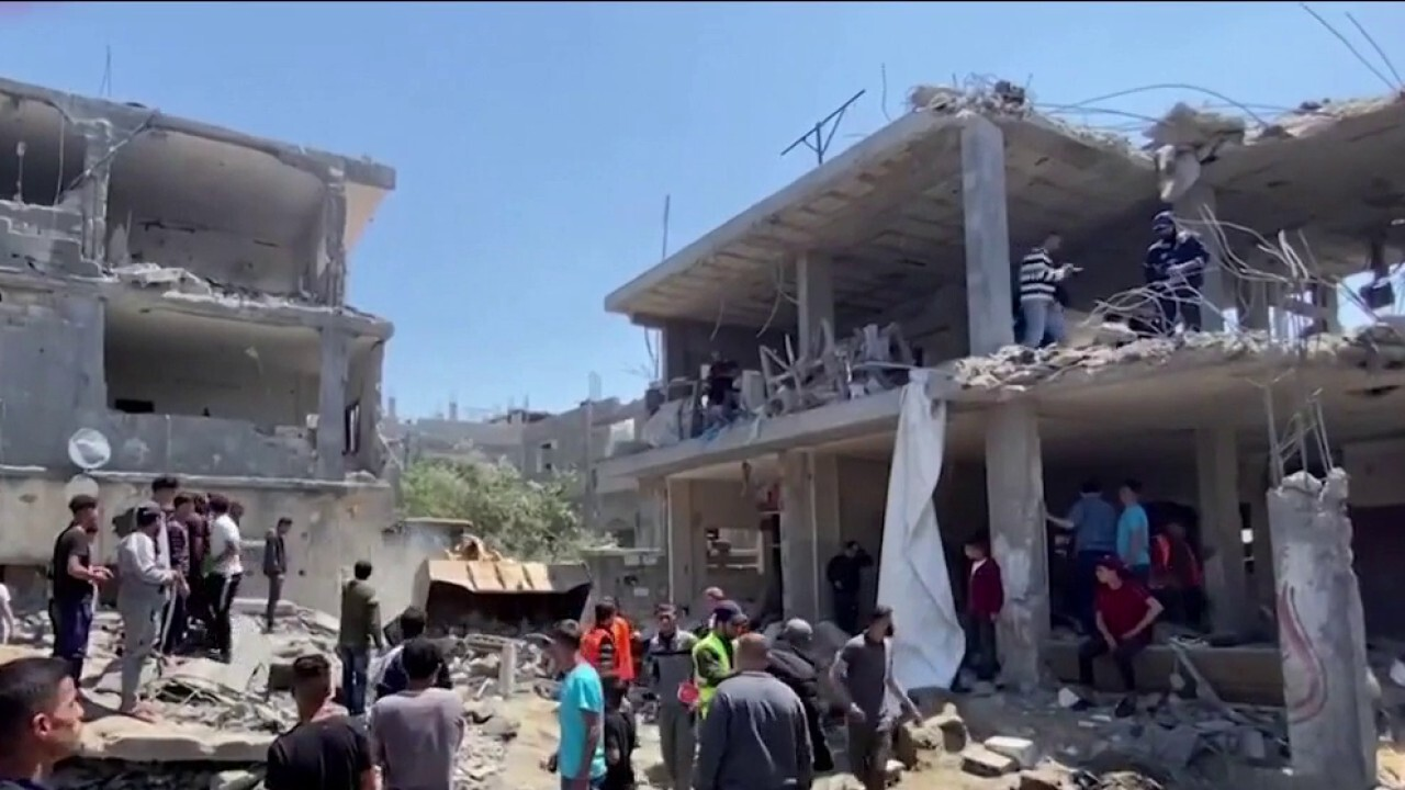 Israel takes out media building it says was being used by Hamas