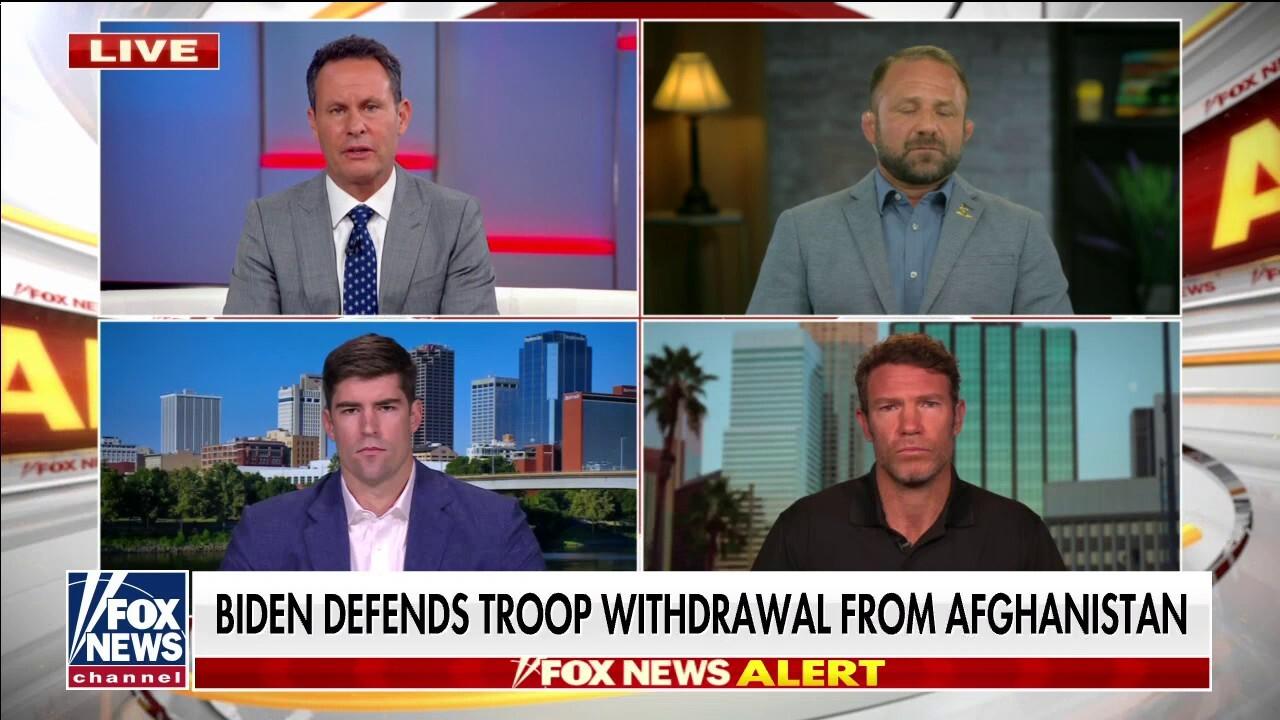 Veterans of Afghanistan war blast Biden's speech: 'Absolute disgrace'