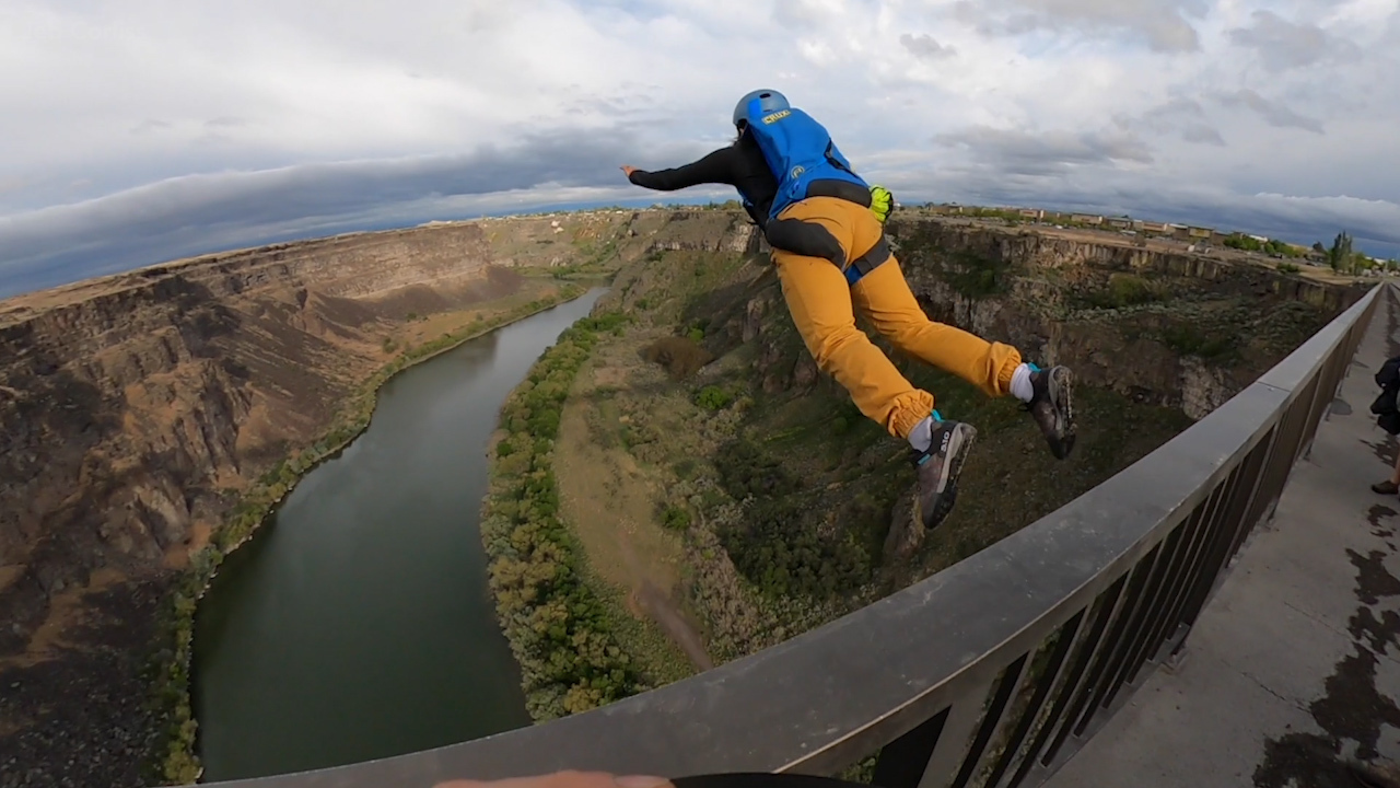 Inside the minds of Idaho's BASE jumping subset