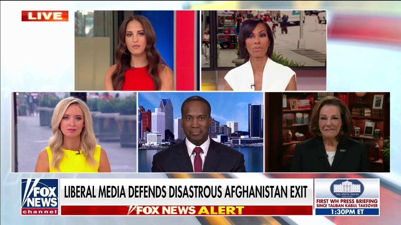 'Outnumbered' panel blasts media for backing Biden's Afghanistan failure