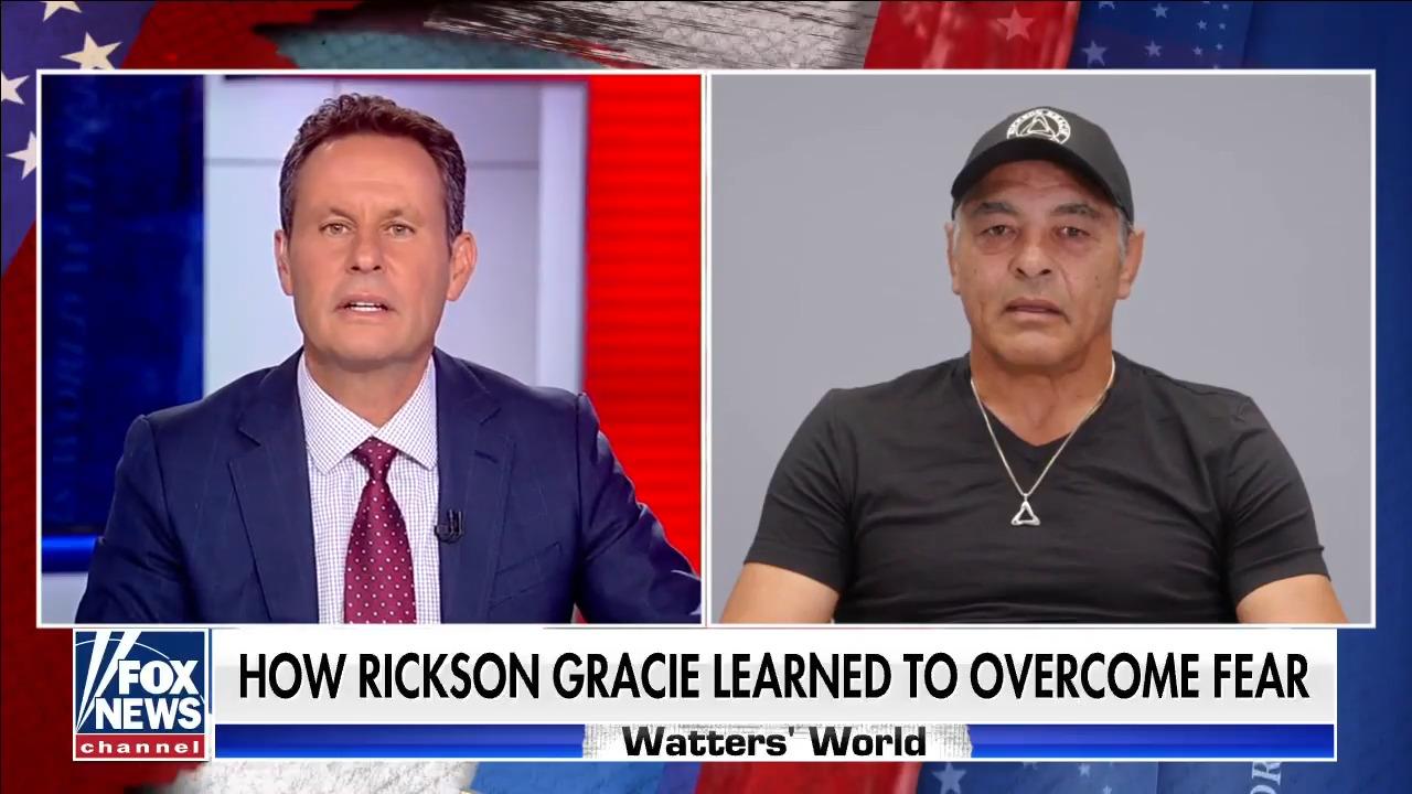 Kilmeade goes one-on-one with Jiu-Jitsu legend Rickson Gracie