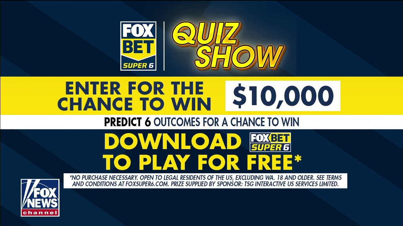 FOX Bet Super 6 offers viewers a chance to collect $10,000 prize