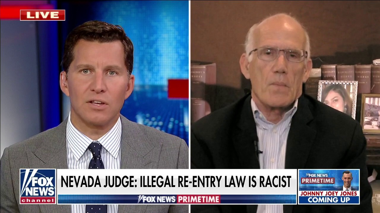Nevada judge tosses case against illegal immigrant due to 'racist' law