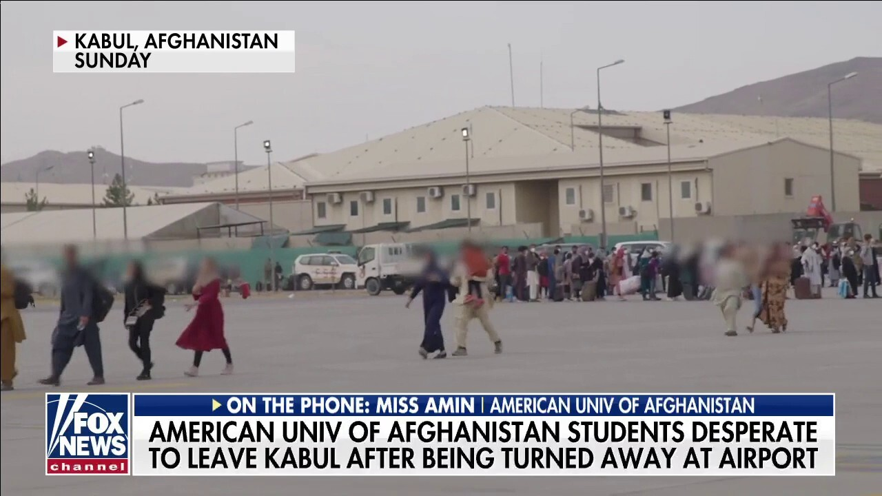 American University of Afghanistan students remain in Kabul, say situation 'hopeless' under Taliban