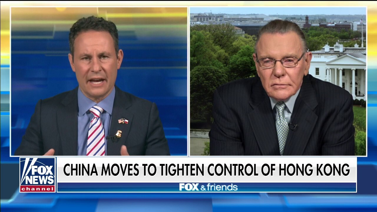 Gen. Keane on why China's moves against Hong Kong are significant