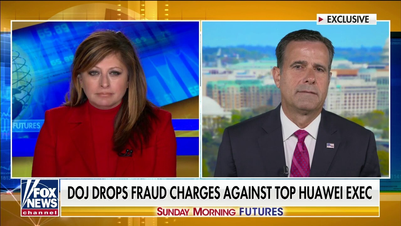 John Ratcliffe on US buying Chinese drones: 'It's harmful to national security'