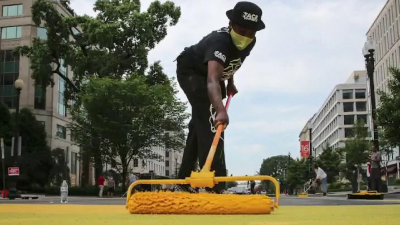 Activists sue Washington, DC mayor over 'Black Lives Matter' street mural