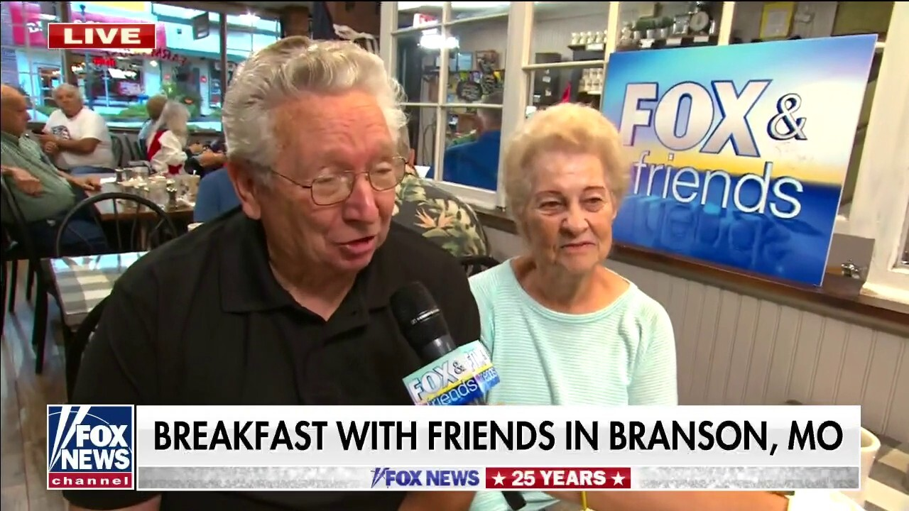 Rachel Campos-Duffy and Pete Hegseth have 'Breakfast with Friends'