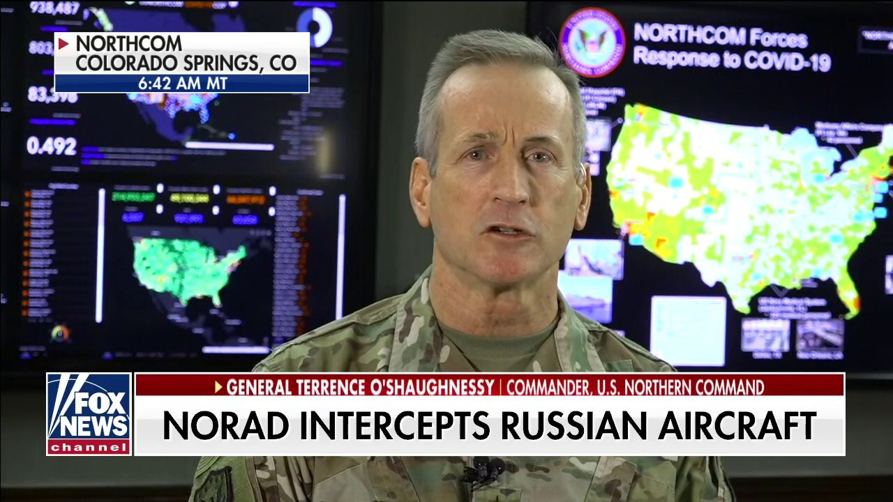 Gen. O'Shaughnessy on NORAD's response to Russians flying near U.S. airspace