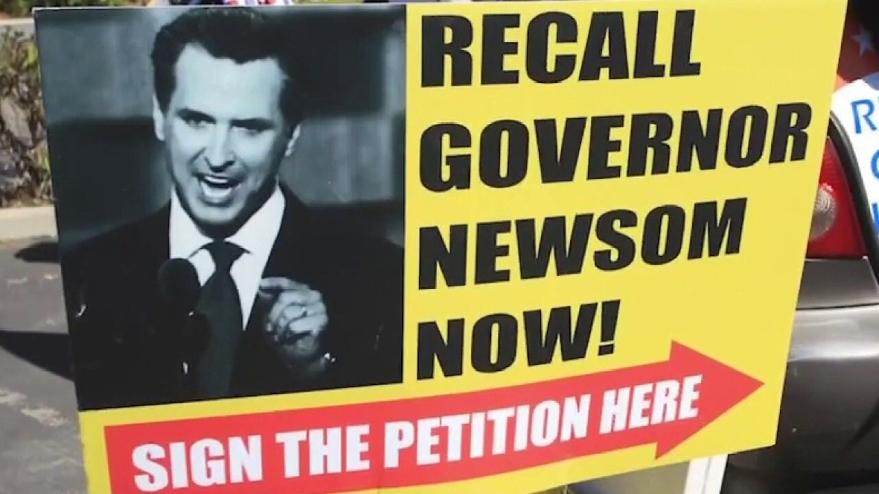 Newsom's defense on recall effort is a 'big lie': Terrell