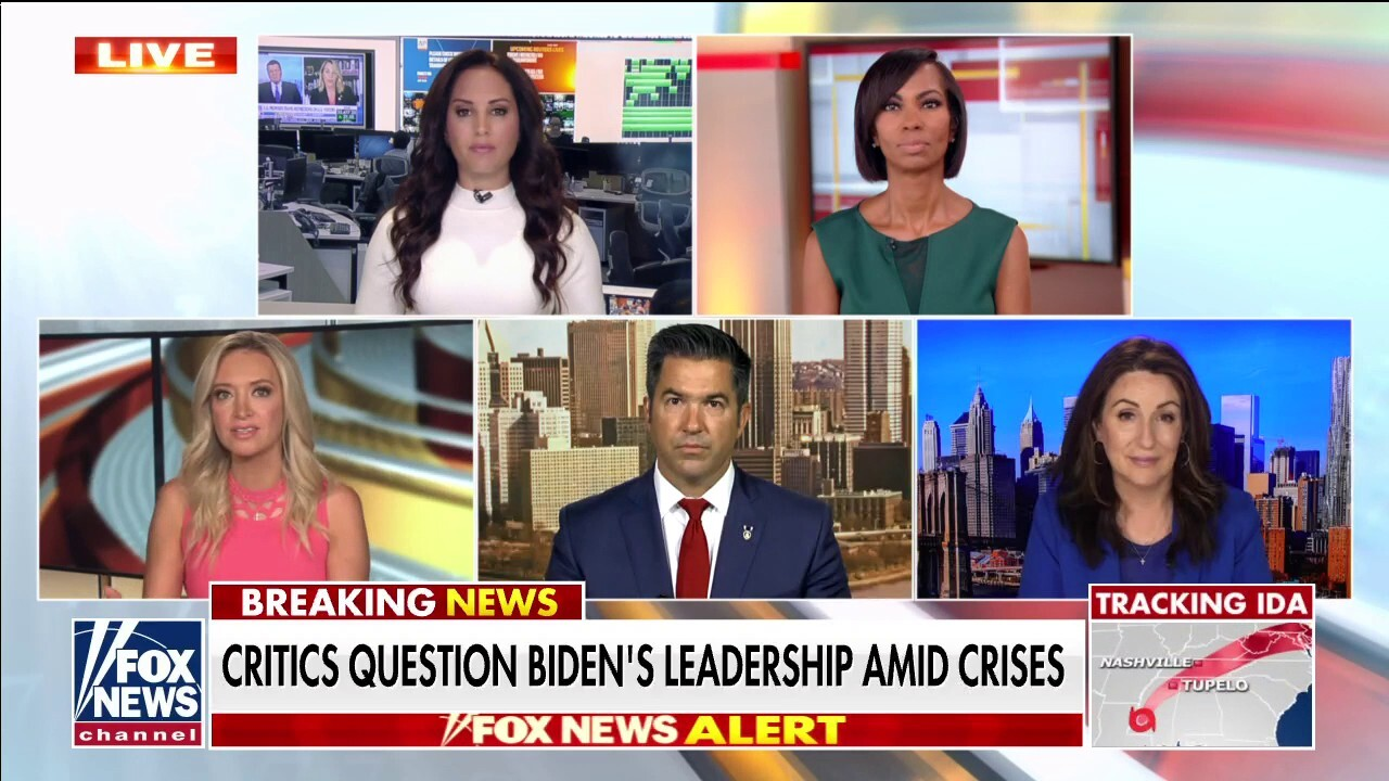 'Outnumbered' says Biden's 'not running the show' as critics question leadership amid Afghanistan crisis