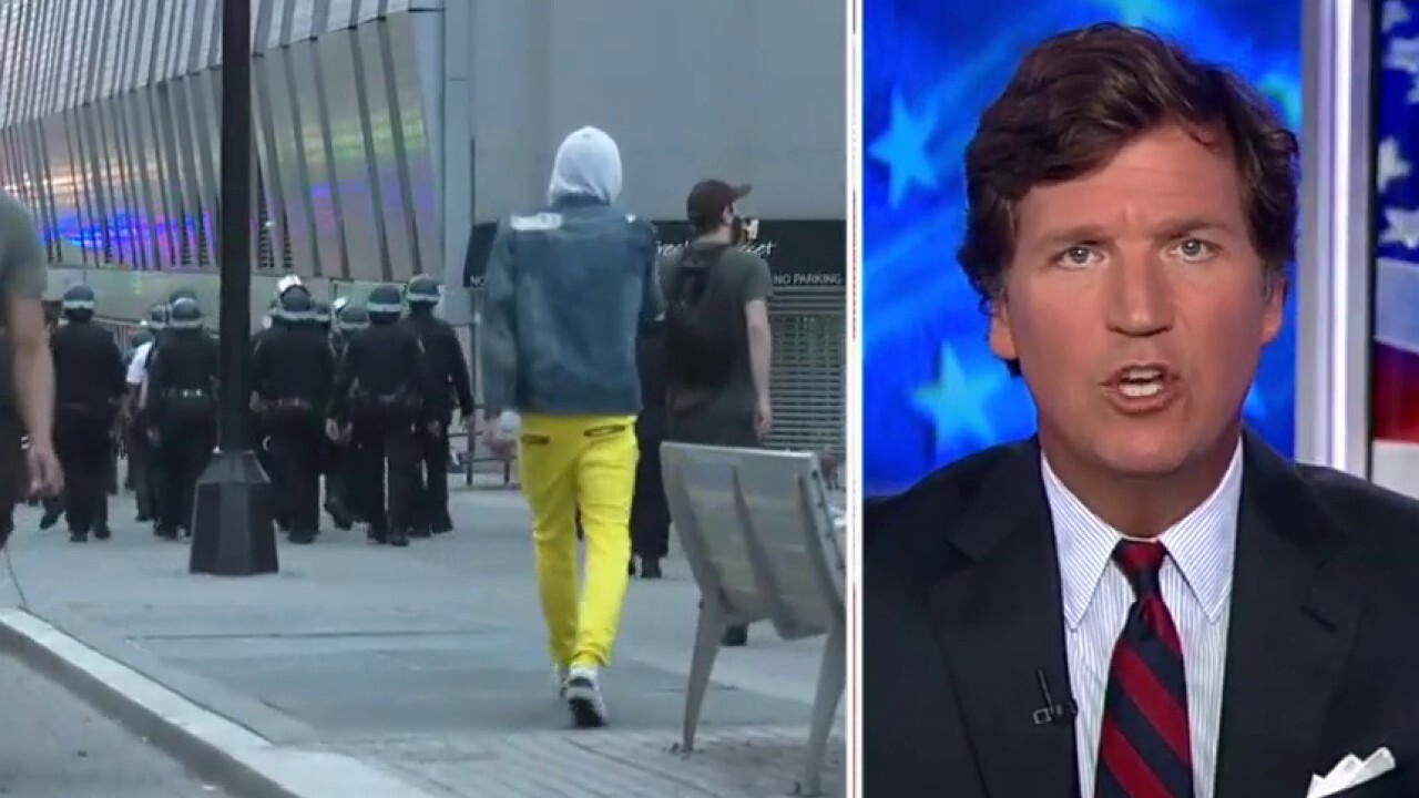 Tucker: What we're watching is class war disguised as race war