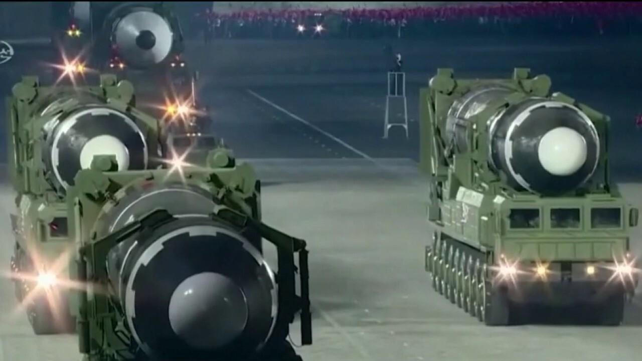 North Korea fires off first missile test under Biden's watch