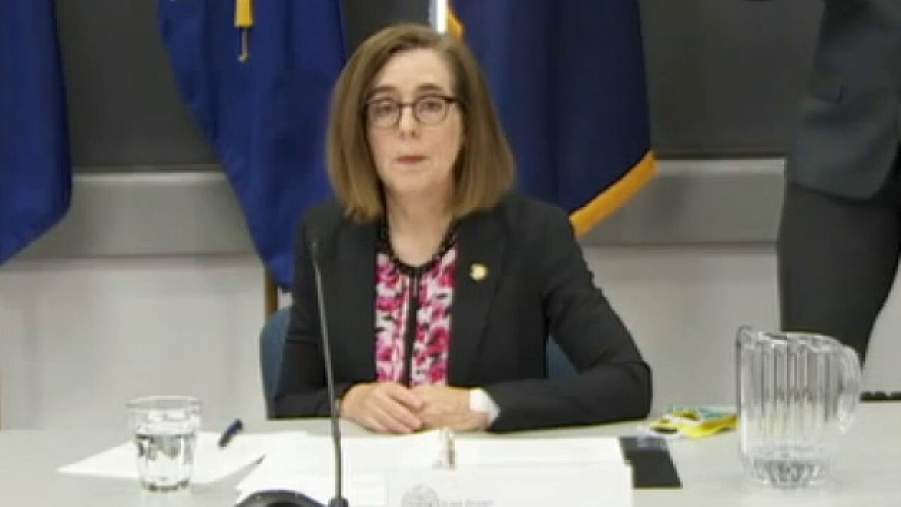 Oregon Gov. Kate Brown: Federal cops are a 'secret police'