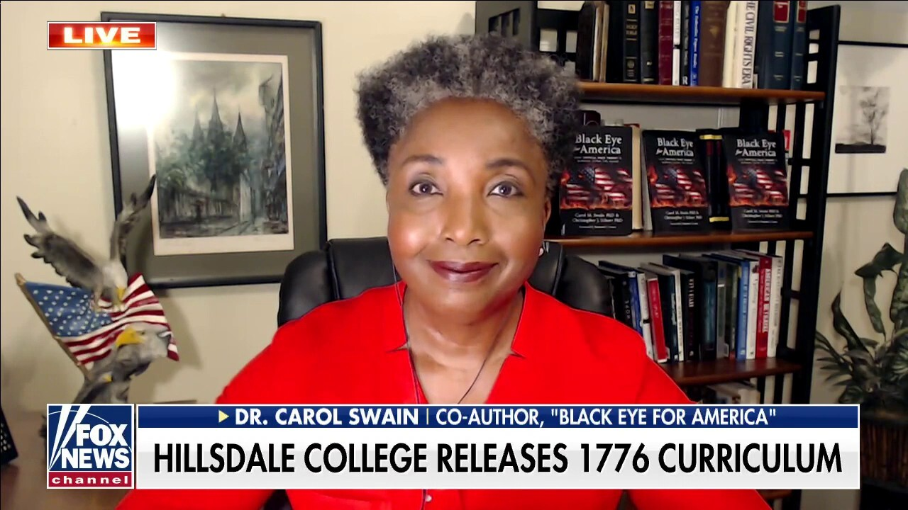 Dr. Carol Swain on the fight against CRT, release of '1776 Cirriculum'