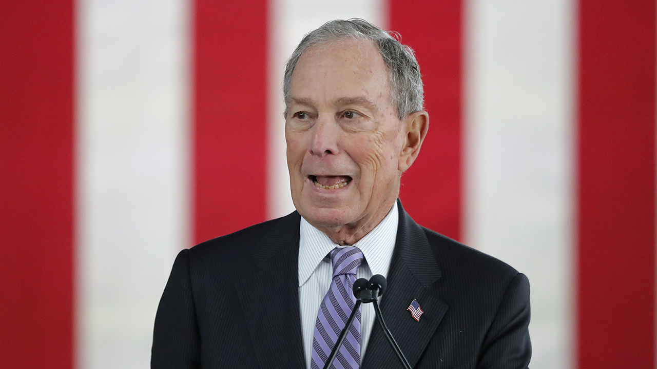 Mike Bloomberg under fire from rival presidential contenders