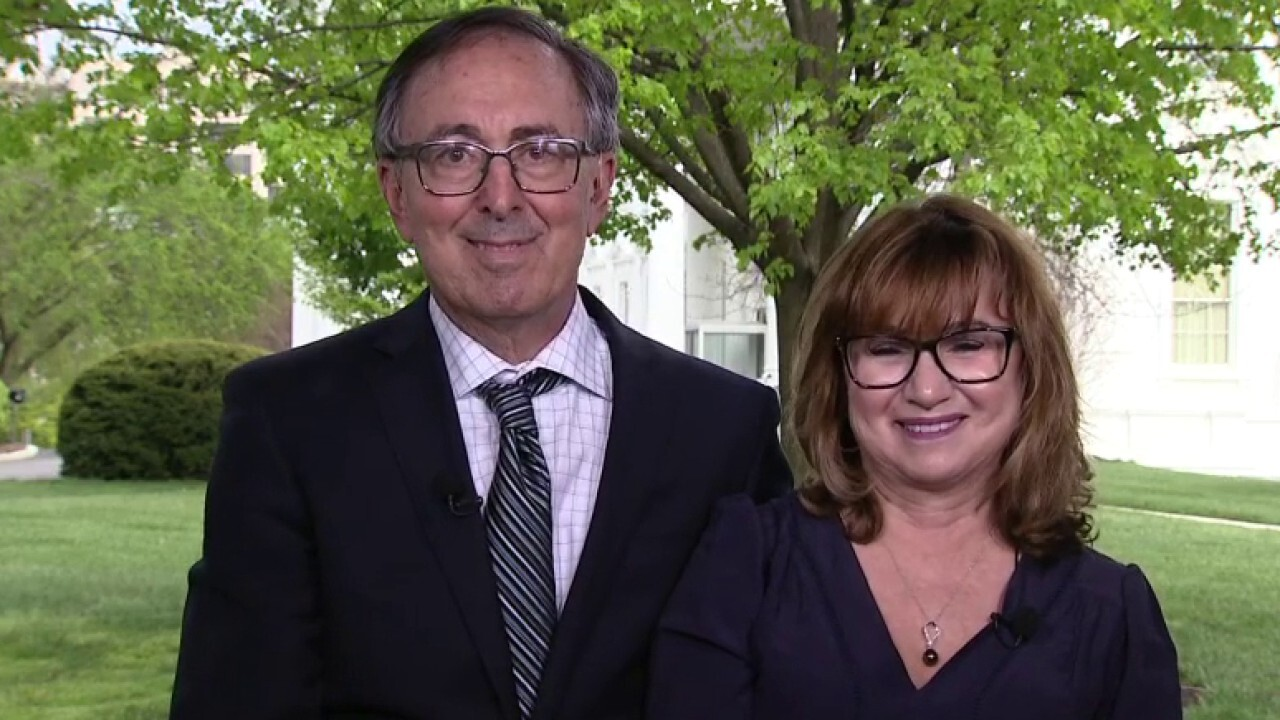 California couple reunited after COVID-19 quarantine meets Trump at White House